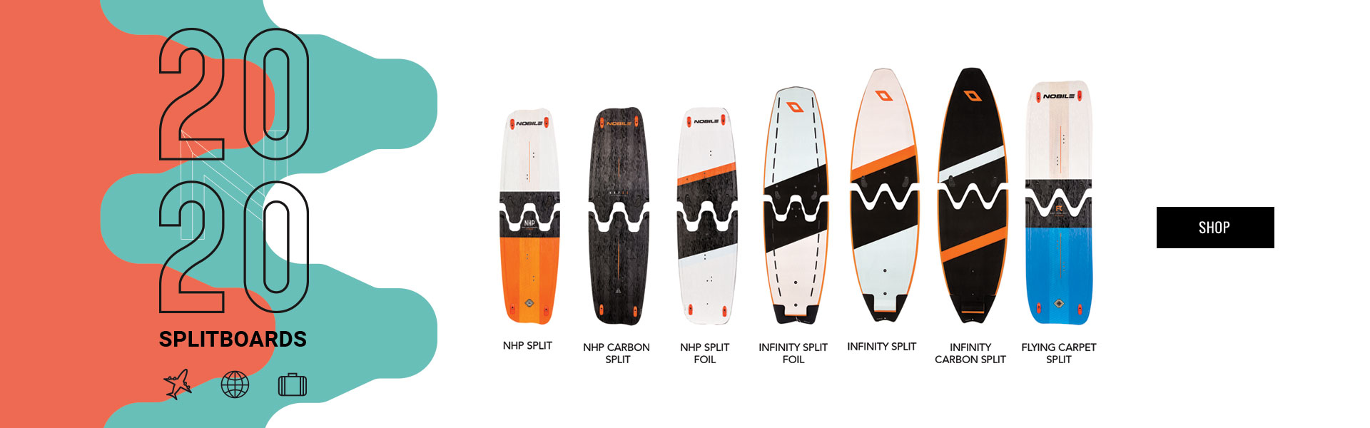 Kiteboard 2020 - split