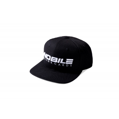 NOBILE SNAPBACK SNOWBOARD (BLACK / WHITE)
