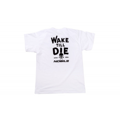 NOBILE CLASSIC T-SHIRT MEN WHITE WAKEBOARD